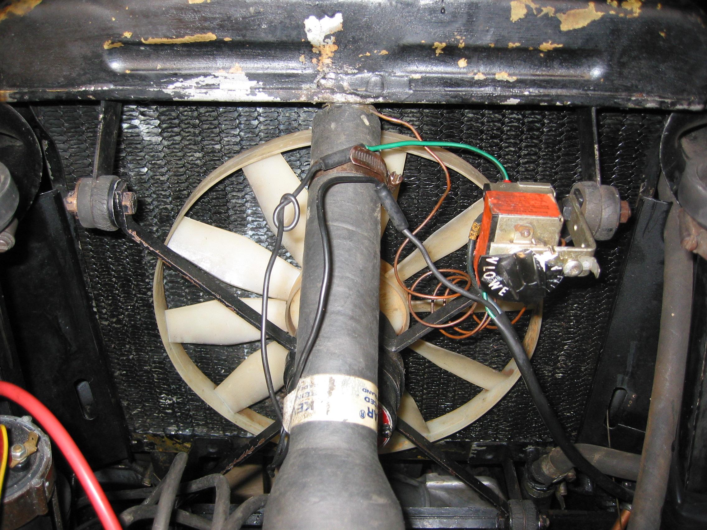Mods Kenlowe Electric Fan Wiring Diagram on